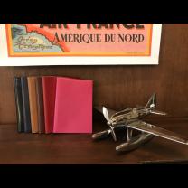 CARNET DE NOTES VEAU BOBOLI - 21,8 x 14,9 cm
