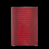 REPERTOIRE R22 VEAU CROCO SAVANNAH - 21,8 x 14,9 cm