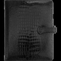 CONFERENCIER VEAU CROCO SAVANNAH avec patte - 22,8 x 18 cm